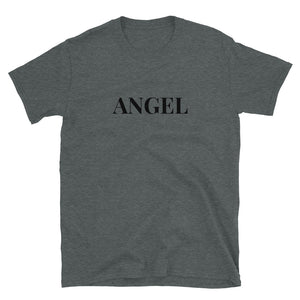 Angel Guided Healing -  Heart Wings on Back Short-Sleeve Unisex T-Shirt