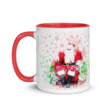 Load image into Gallery viewer, Santa Claus Mug with Color Inside