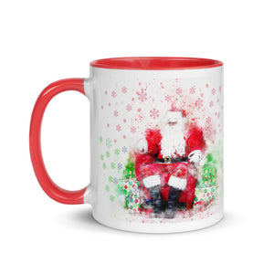 Santa Claus Mug with Color Inside