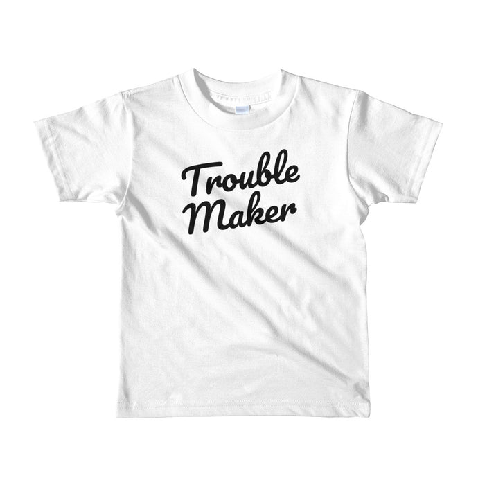 Y - Trouble Maker Short sleeve kids t-shirt