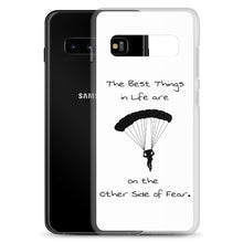 Load image into Gallery viewer, D7 - Skydiving Best Things in Life Samsung Case