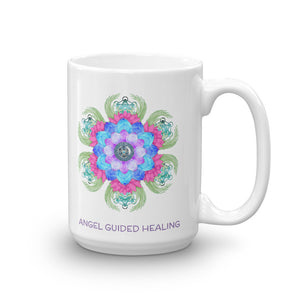 1- Angel Guided Healing - Lotus Bird Mug