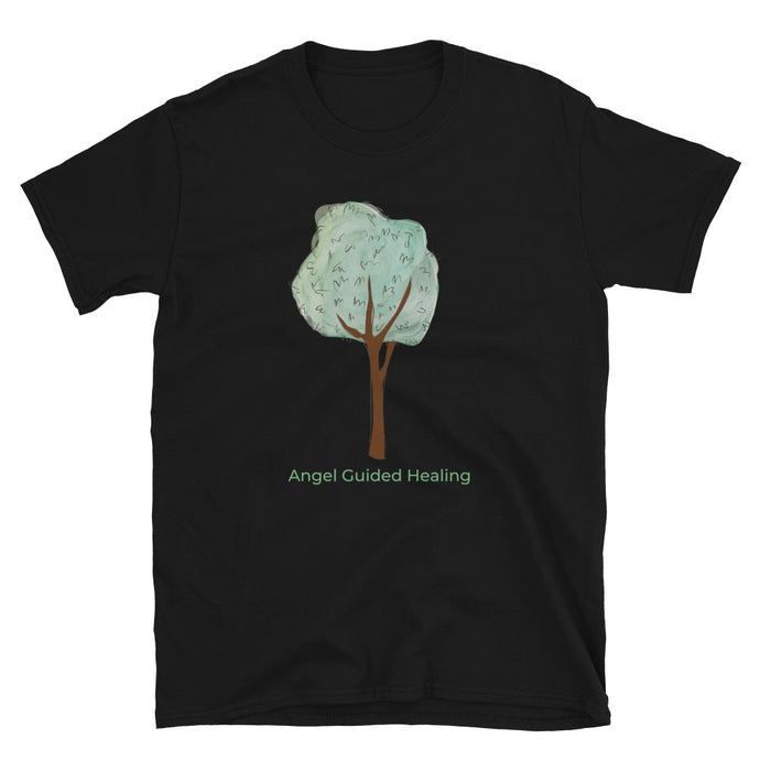 Angel Guided Healing - Mint Tree Short-Sleeve Unisex T-Shirt