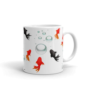 C - Goldfish Swimming Mug
