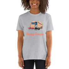 Load image into Gallery viewer, D13 Happy Camper Funny Trailer Short-Sleeve Unisex T-Shirt
