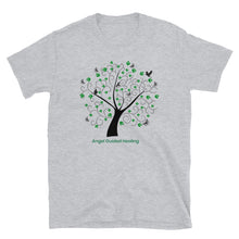 Load image into Gallery viewer, Angel Guided Healing - Green Tree of Life Birds Short-Sleeve Unisex T-Shirt