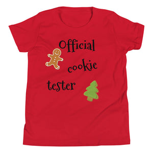 Y - Official Cookie Tester Youth Short Sleeve T-Shirt