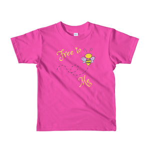YG - Free to Bee Me Short sleeve kids t-shirt
