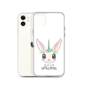 D3 - I'm a Unicorn (Bunny) iPhone Case