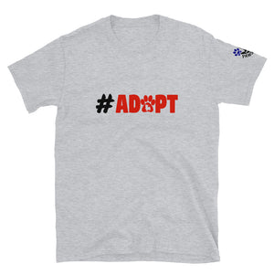 #ADOPT Short-Sleeve Unisex T-Shirt