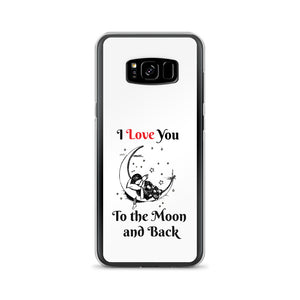 D8 - I Love You to the Moon Samsung Case