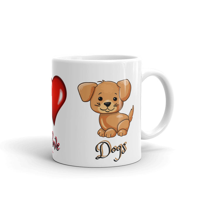 A - Light Love DOGS Mug