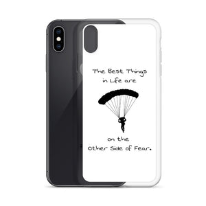 D7 - Skydiving Best Things in Life iPhone Case