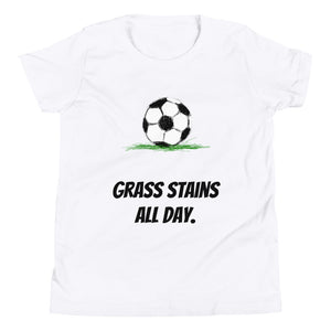 Y3 - Grass stains all day Youth Short Sleeve T-Shirt