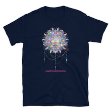 Load image into Gallery viewer, Angel Guided Healing - Mandala Dream Catcher Short-Sleeve Unisex T-Shirt
