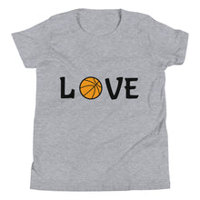 Load image into Gallery viewer, Y6 - Basketball Love Youth Short Sleeve T-Shirt