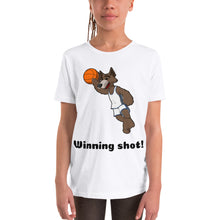 Load image into Gallery viewer, Y6 - Winning Shot Basketball Youth Short Sleeve T-Shirt