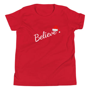 MA14 - Believe in Santa Youth Short Sleeve T-Shirt