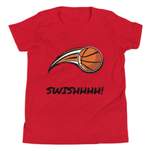 Load image into Gallery viewer, Y6 - Basketball Swish Youth Short Sleeve T-Shirt