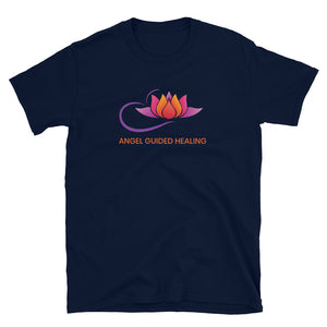 Angel Guided Healing - Orange Lotus Short-Sleeve Unisex T-Shirt