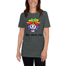 Load image into Gallery viewer, D - Bad Hair Day Unicorn Short-Sleeve T-Shirt