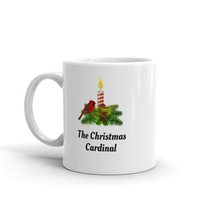H - The Christmas Cardinal Holiday Mug