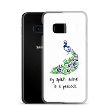 Load image into Gallery viewer, B2 - My spirit animal is a peacock Samsung Case