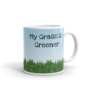 D - My Grass is Greener Mug