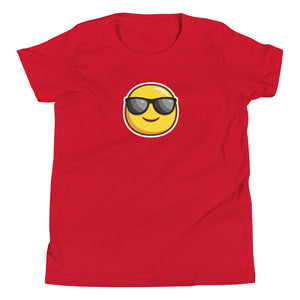 Y - Cool Emoji Youth Short Sleeve T-Shirt