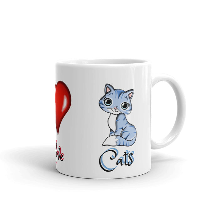 A - Light Love CATS Mug