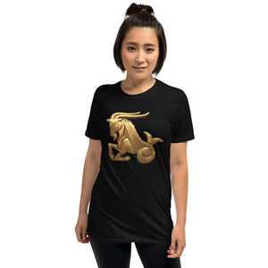 E - Capricorn Short-Sleeve Unisex T-Shirt