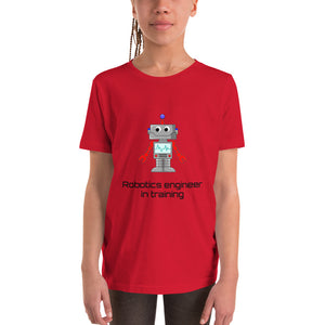 Y9 - Robots Engineer in Training Youth Short Sleeve T-Shirt