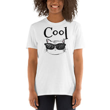 Load image into Gallery viewer, 1A - COOL Cat Short-Sleeve Unisex T-Shirt