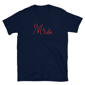 MA12 - MRS. Short-Sleeve Unisex T-Shirt
