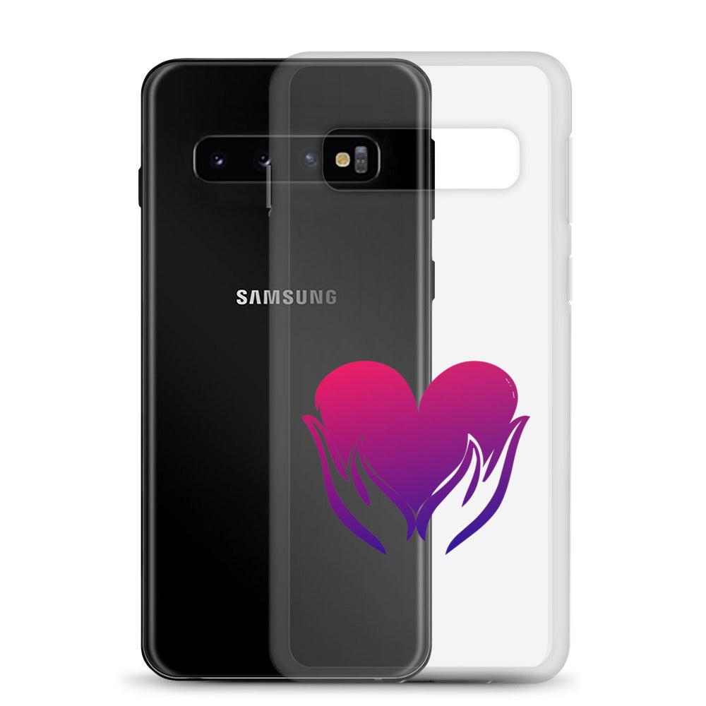 B - Healing hands on Heart Samsung Case