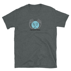 Angel Guided Healing - Healing Hands Dove Short-Sleeve Unisex T-Shirt