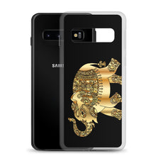 Load image into Gallery viewer, D5 - Golden Patchwork Elephant Samsung Case