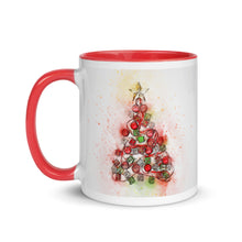 Load image into Gallery viewer, Christmas Tree 2 Mug with Color Inside
