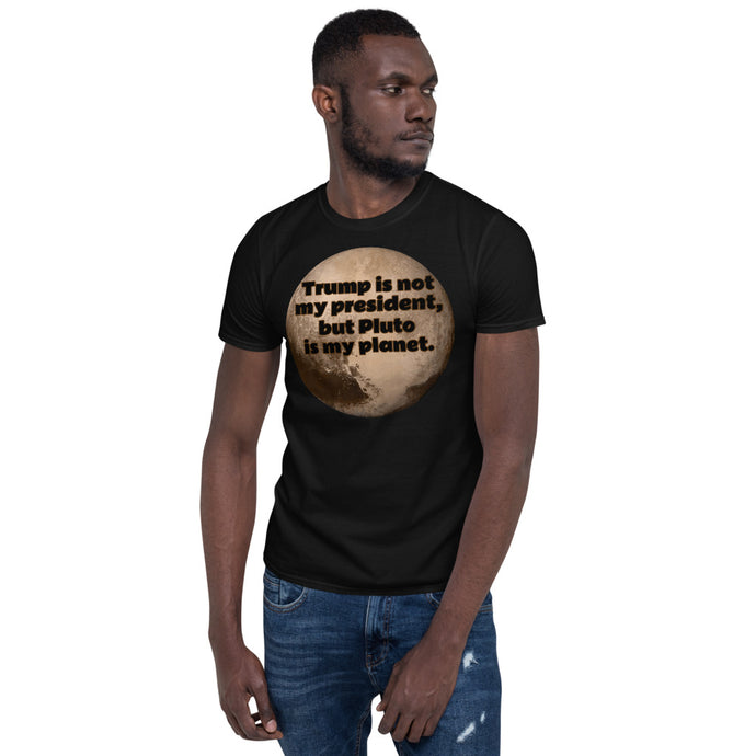 Trump vs Pluto Short-Sleeve Unisex T-Shirt
