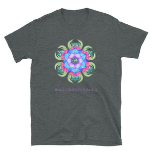 Angel Guided Healing - Lotus Bird Short-Sleeve Unisex T-Shirt
