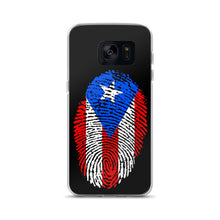 Load image into Gallery viewer, F - Puerto Rican Flag Thumbprint Samsung Case