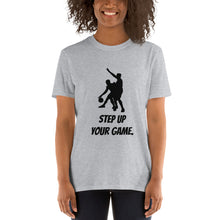 Load image into Gallery viewer, G - Step Up Your Game Basketball Short-Sleeve Unisex T-Shirt