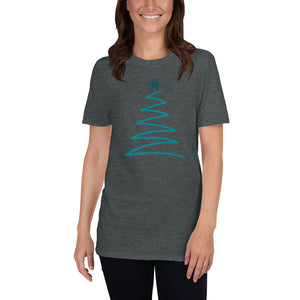 Christmas Tree Short-Sleeve Unisex T-Shirt