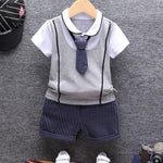 2018 Summer Cotton Baby boy Clothing