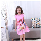 2019 Children pajamas Summer Dresses