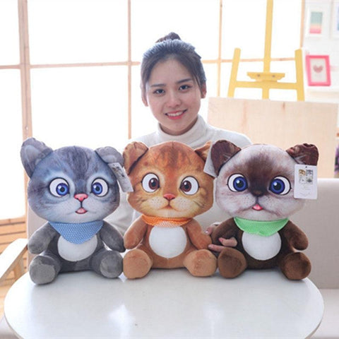 Mini Cute Plush Cat Toys