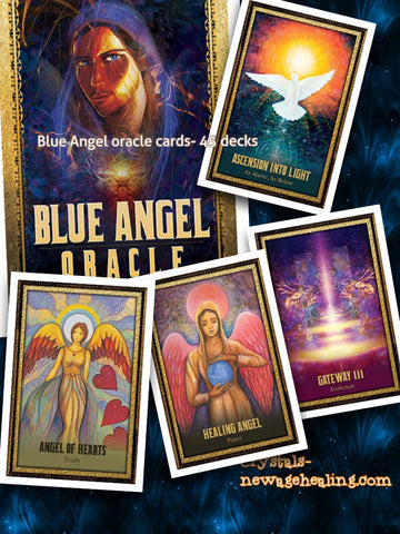 Oracle cards- Blue Angel by Toni Carmine Salerno and Walter Bruneel