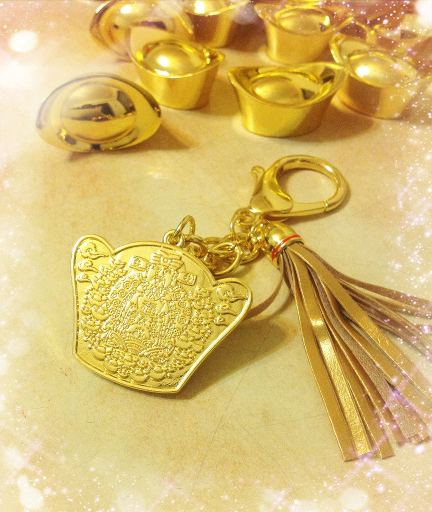 Wealth Prosperity Attraction Keychain Qi New Age Healing