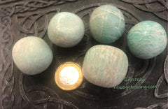 Amazonite green tumbled large