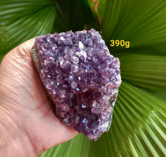 Amethyst Deep Purple cluster